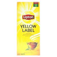 Чай черный Lipton Yellow label в пакетиках 50 гр